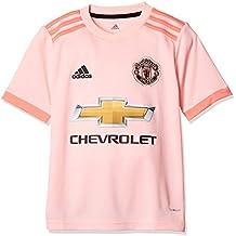 adidas MUFC A JSY Y Camiseta, Niños, Rosa (roshel/Rostra/Negro