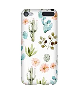 Cactus Love Apple iPod Touch (6th Generation) Case