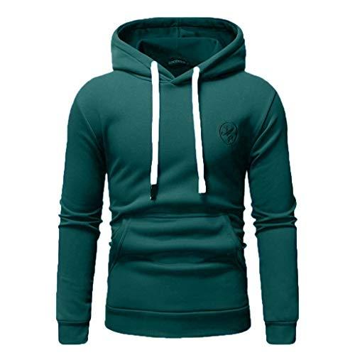 7f8fd6cc24a iHENGH Sweaters Top Blouse Uomo 2019 Nuovi Moda Casual Manica Lunga Felpa  Printing Sport Fitness Uomini