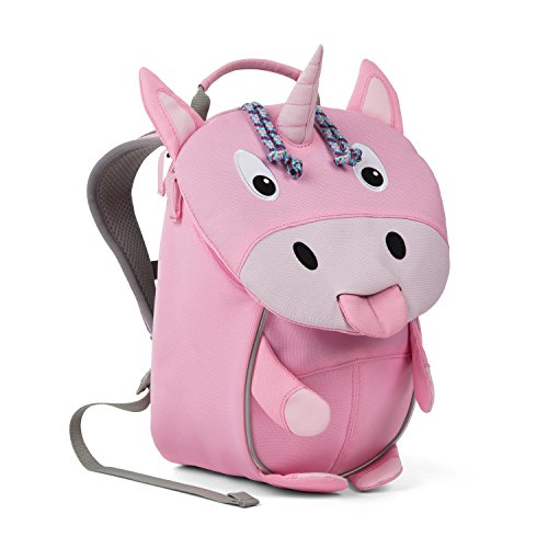 (Affenzahn Kinderrucksack mit Brustgurt Erna Einhorn für 1-3 Jährige Jungen und Mädchen im Kindergarten oder Kita der Kleine Freund)