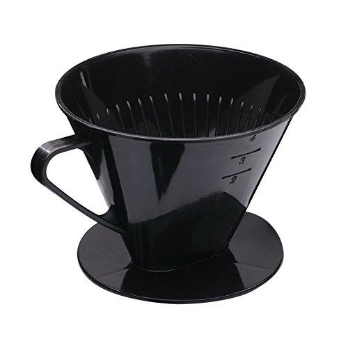 Westmark Kaffeefilter/Filterhalter, Für bis zu 4 Tassen Kaffee, Filtergröße 4, Kunststoff, Four,...