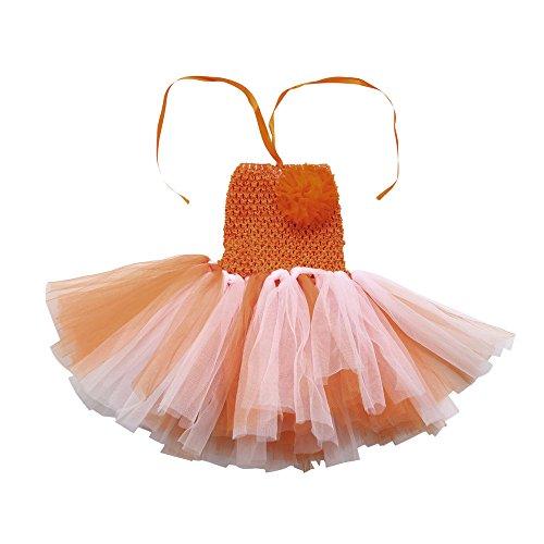 Toddlers neonato tutu floreale tute ragazze rainbow dance fancy party dress abiti da fotografia vovotrade vestiti carnevale bambina principessa
