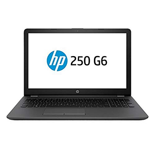 """HP 250 G6 2HG53ES Portatile I3-6006U 2GHZ, 4GB, 128GB SSD, 15.6""""/39.6CM, DVDRW, BT, HDMI, FREEDOS, Nero"""