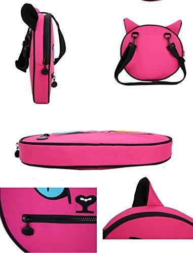 zarapack, Borsa a tracolla donna, Pink (rosa) - BA970 Pink
