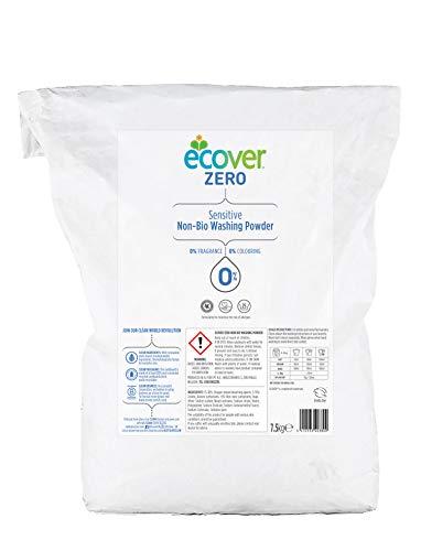 Ecover Zero Waschpulver ohne biologisch aktive Wirkstoffe, 7,5kg