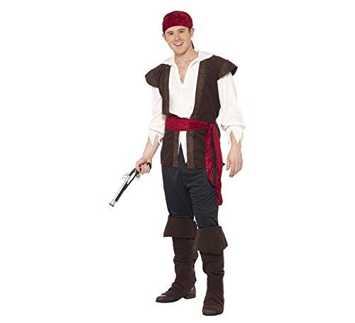 Imagen de disfraz de grumete pirata para hombre