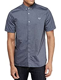 Fred Perry - Fred Perry Oxford chemise classique anthracite foncé pour homme