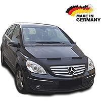 Autostyle 0605 CARBON Motorhauben Steinschlagschutz Mercedes B-Klasse W245 2008-Karbon-Look