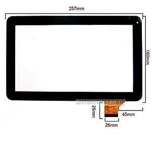 Écran tactile numériseur de rechange pour 10.1 pouces tablette Google 0901A1 FPC10-DH -