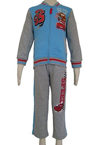 Disney Cars jogging Suit per bambini ep1215 Grey 4 Anni