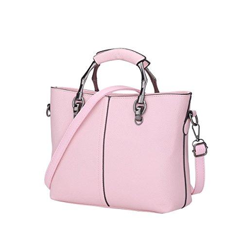 Dissa Es849 Nuovo Stile Pu Pelle Deman 2018 Moda Borse A Tracolla Borse Borse, 310 × 105 × 210 (mm) Rosa