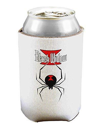 Black Widow Spinnen-Design – Logo Bierdosen-Kühlhüllenhalter – 1 Stück
