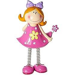 Huchas infantiles niñas decorativa con forma de princesa para niños