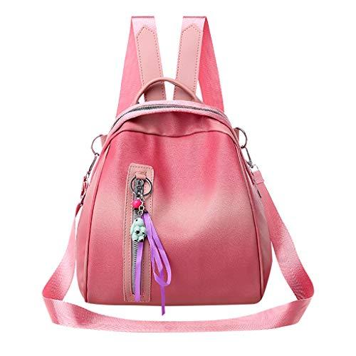 Mitlfuny handbemalte Ledertasche, Schultertasche, Geschenk, Handgefertigte Tasche,Damenmode Rucksack große Kapazität Computer Tasche Umhängetasche Farbe Handtasche