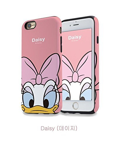 New disney minnie cartoons trasparente cartoons character and others trasparente in poliuretano termoplastico per iphone-cover per apple iphone 7, 8, 7plus & 8plus plastica, (iphone 6, daisy 1)