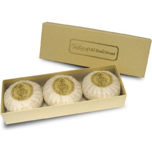 Taylor of Old Bond Street 100g Luxury Sandalwood Hand Soaps Gift Box Set