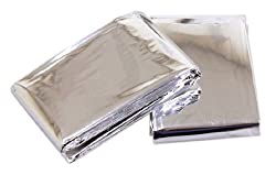 Rolson Emergency Blanket - 2 Pieces