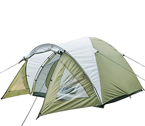 Climecare Kuppelzelt 2-3-4 Personen, Zelte 3 Jahreszeiten Kuppelzelt Outdoor Campingzelt Iglu-Zelt,doppelschichtig Wasserdichtes, 210x210x140cm …