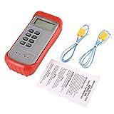 Footprintes Termometro digitale a termocoppia JTW 306 da -50 a 1300 ℃ Misuratore di temperatura per misuratore di tester porzionale LCD K-tipo doppio