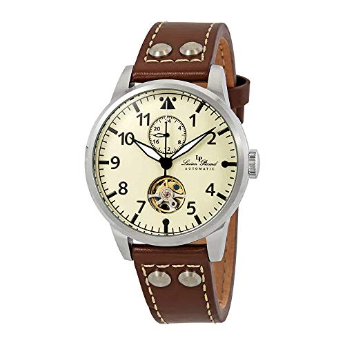 Lucien Piccard Military 24 Automatic Mens Watch LP-28005A-016-BRW
