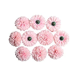 Baoblaze 10er Set Chrysantheme Deko Blütenköpfe Künstliche Kunst Blumen Köpfe Wohnaccessoires Blumendekoration - Farbe 1, 5.5cm
