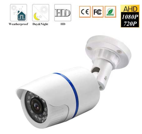 Machsmart® 2MP Wireless IP Security Bullet Camera, Waterproof and Weatherproof, (Supports up to 64 GB SD Card)