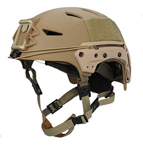 osdreambf verstellbar Tactical EXP leicht Sicherheit ABS-Helm für Airsoft Paintball, hautfarben