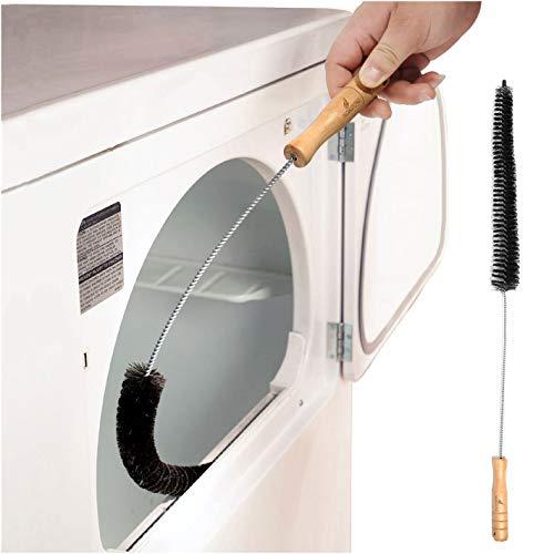 Noa Store Asciugatrice Lint Vent Trappola Brush Cleaner Gas Elettrica Prevenzione Incendi scarico - Fatto di acciaio inossidabile (Confezione da 1)