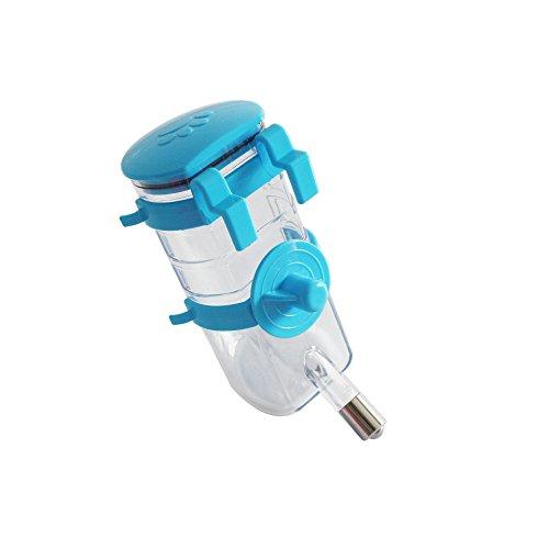 asentechuk® Pet Hund Kaninchen Katze Puppy Wasser Spender Trinkflasche Aufhängen Wasser Brunnen Flasche Anleger Halter Pet Supplies