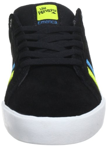 Emerica the Leo, Scarpe Sportive-Skateboard Uomo Nero (Black)