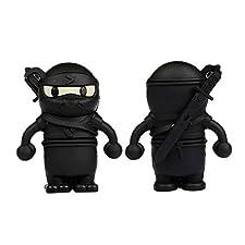 YooUSB 4GB Novelty Cartoon Cool Ninja USB Flash Key Pen Drive Memory Stick Gift UK [PC]