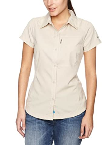 Columbia Silver Ridge Femme Chemise manches courtes Femme Fossil FR : S (Taille Fabricant : S)