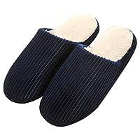 Outgeek Winter Slippers Anti-slip Warm Slipper Indoor Slipper for Women or Men