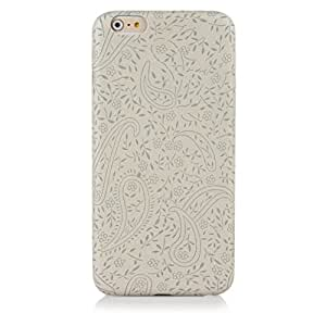 """ImagineDesign(TM) Premium """" Embossed Patterns on Fabric """" Finish Hard Back Case Cover for Apple iPhone 6 Plus (Warm Grey)"""