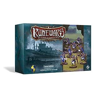 Fantasy Flight Games- Runewars: Lanceros - Español, Color (FFRWM07)