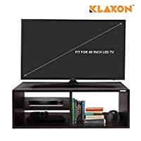Klaxon presents this modern design tv cabinet or led stand made of solid engineered wooden having open shelves to store magazine, books.The tv stand a neutral, classic wooden finish allows this piece to easily complement your homes decor. Enhance you...