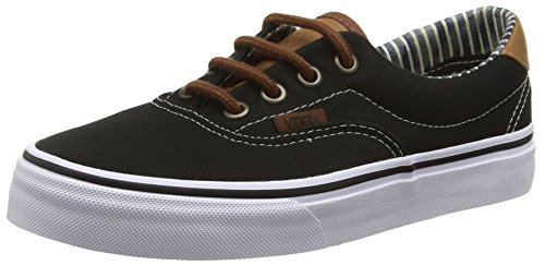 Vans Authentic, Sneakers Mixte Adulte Noir (C L/Black/Str)