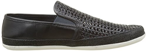 Base London Stage, Mocassins Homme Bleu (Navy Weave)