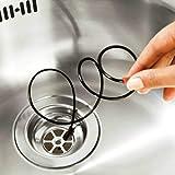 Frettchen flexibel Abflussreiniger für Regenrinne/Abflussreiniger Evier, Badewanne, Dusche, Waschbecken Hochdruckreiniger