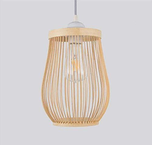 Wicker Outdoor-esstisch (Kronleuchterlampen Lampenschirm Beleuchtung Kronleuchter Bambus Wicker Rattan Laterne Pendelleuchte Leuchte rustikale asiatische kreative japanische Lampe Leuchte Foyer Esstisch Tee-Raum)