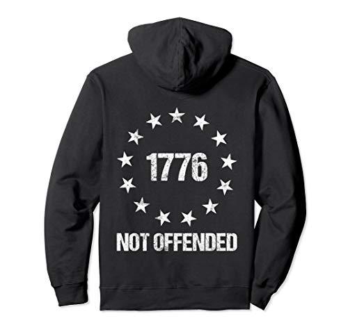 Ross Kostüm Betsy Kinder - Betsy Ross Flagge US Sterne Nicht Beleidigt Politisch Falsch Pullover Hoodie