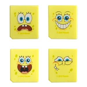 J-Straps SpongeBob 4 Spielehüllen für Nintendo DS,DS Lite,Dsi,Dsi XL