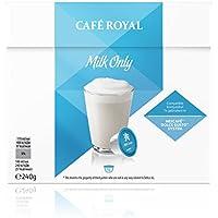 Café Royal Milk Only Neue Generation, 48 kompatible Kapseln für Nescafé Dolce Gusto, 3er Pack (3 x 16 Kapseln)