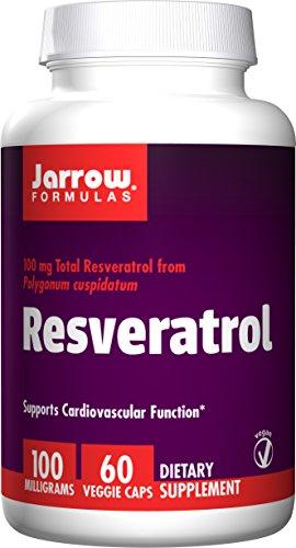 Jarrow Formulas, Resvératrol 100, 60 Capsules végétales