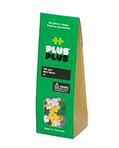 Plus-Plus Mini Basic Building Set (100 Pieces)