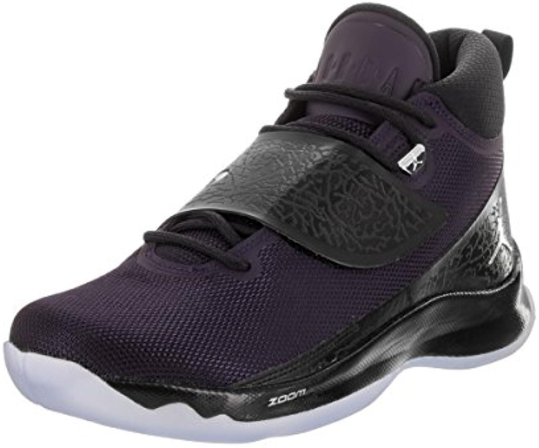 Jordan Herren  Super.Fly 5 Po  Mesh/Leder  Hohe Sneakers  Schwarz