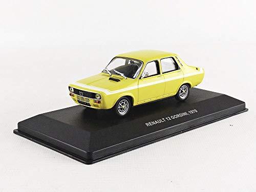 Solido 4303300 - Coche en Miniatura, Color Amarillo y Blanco