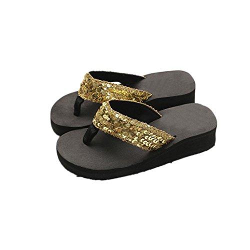 Jamron Mujer Elegante Lentejuela Lona Enredaderas Zapatillas Ligero Aptitud Zapatos Para Caminar Rojo SN1063 EU38 Sf2NbQ