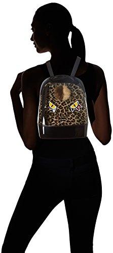 FURLA - Candy Jungle Small Back Pack, Zaini Donna Nero (Toni Onyx)