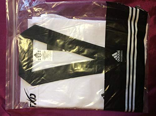 Adidas Taekwondo Champion III Dobok Anzug gleichmäßiges WTF-Schwarz Halsband, ADITCH03B, 5/180 cm -
